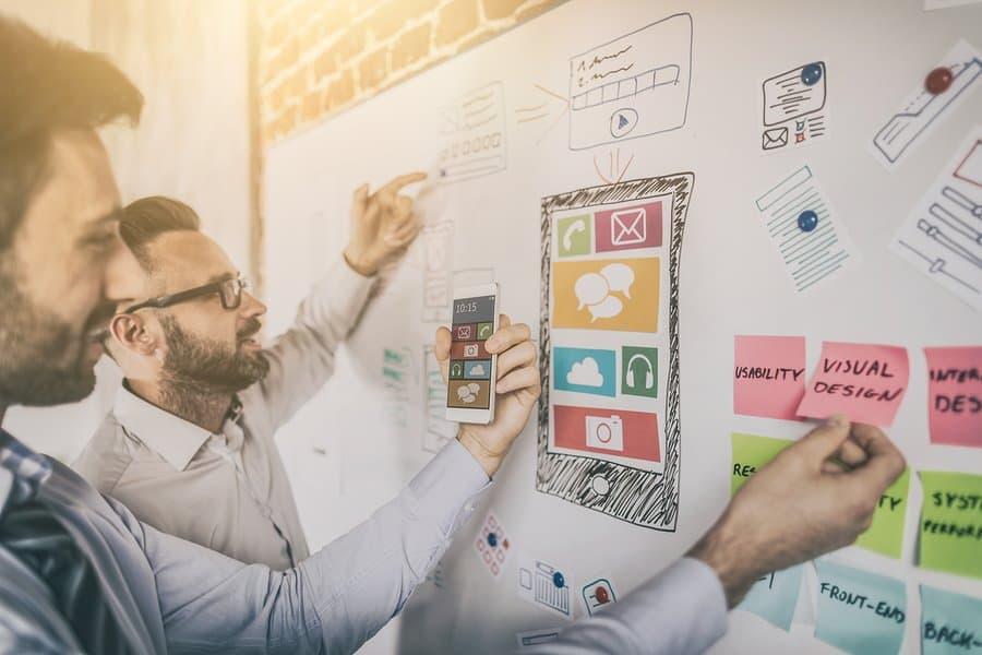 Website redesign planning