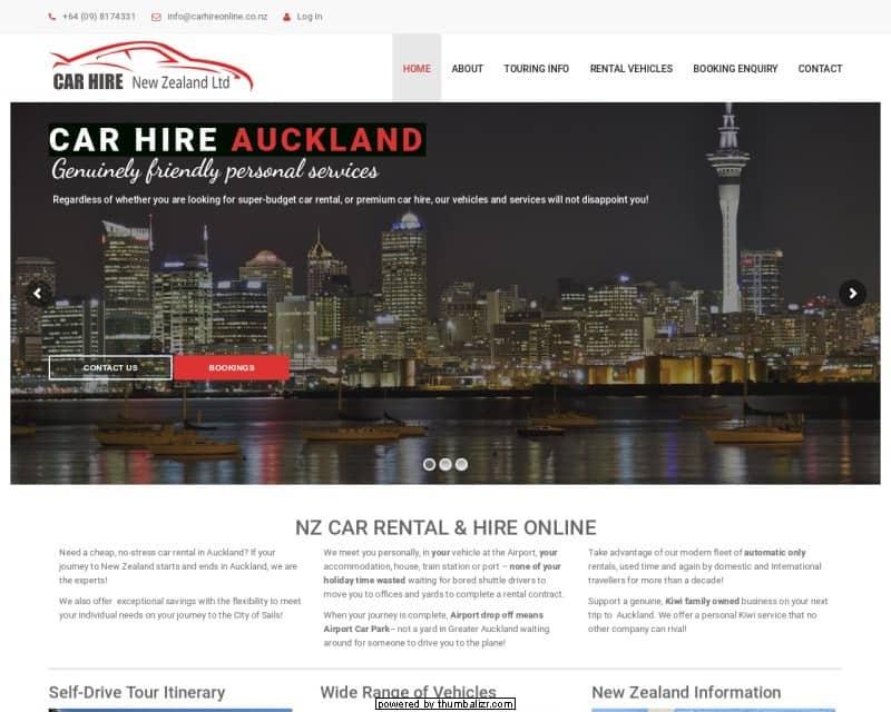 Car Hire NZ Ltd