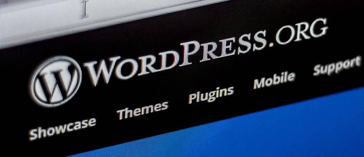 WordPress website redesign